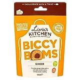 2X Livia's Kitchen Ginger Biccy Boms Pouch 120g