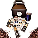 Coffee Sampler and Travel Mug Gift Set for Coffee Lovers