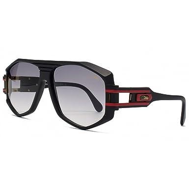 2a4cf01c63 Cazal Legends 163 Aviator Sunglasses in Matte Black   Red - 163 302 59 163  302