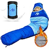 AYAMAYA Down Mummy Sleeping Bag [1200g Down Fill] Zero Degree for [Adults Up