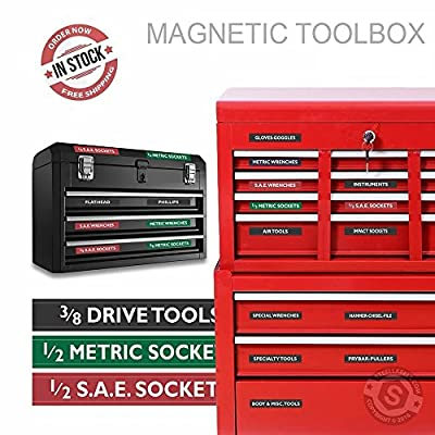 Tool Box Labels from Advanced Product Design