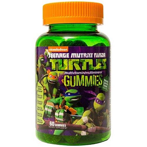 Children's Teenage Mutant Ninja Turtles Gummy Multi-Vitam...