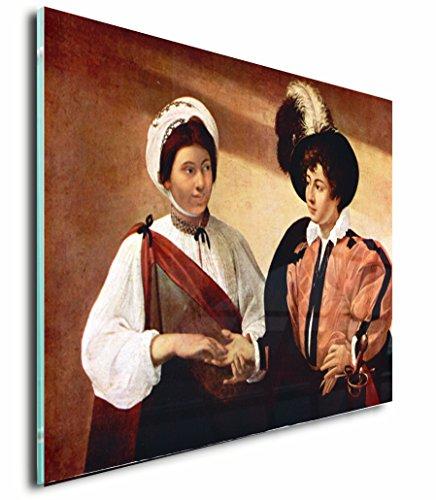 The Fortune Teller (Caravaggio) Acrylic Print Wall Decor Wall Art - Standoff, 18