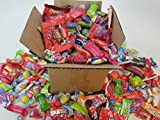 #9: The Ultimate Care Halloween Package 4lb Assorted Party Mix Candy incl. Hot Tamales Mike & Ike Hi Chew Starburst & Skittles Brachs Abra Cabubble Cherry Super Bubble Gum Laffy Taffy Sweetarts Lemonhead