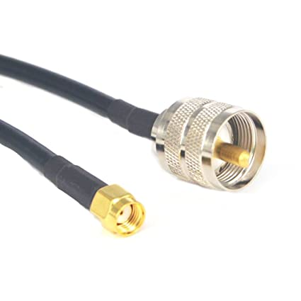 YILIANDUO EUOL-3197-2X - Cable de Antena de Radio de Mano PL259 UHF