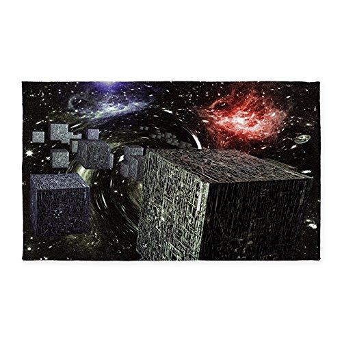 ar Trek Poster 3'X5' Decorative Area Rug, Fabric Throw Rug ()