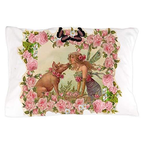 CafePress Good Luck Fairy Standard Size Pillow Case, 20