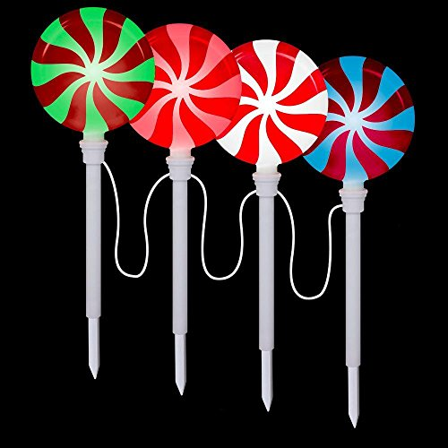 Lollipop Pathway Stake (Set of 12) (Pack of 3) by Lightshow