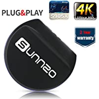 (2017 New Arrivals) Sunnzo L2 Mini TV Box/Streaming Media Player with Android 6.0 OS Amlogic S905X Chipset WiFi True 4K Playing