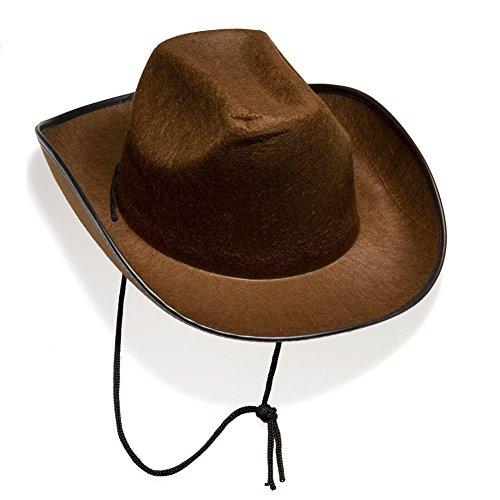 Brown Felt Cowboy Hat product image