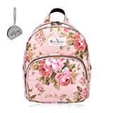 Micom Mini Cute Korean Casual Backpacks Travel Daypack for Women,teen girls (Pink)