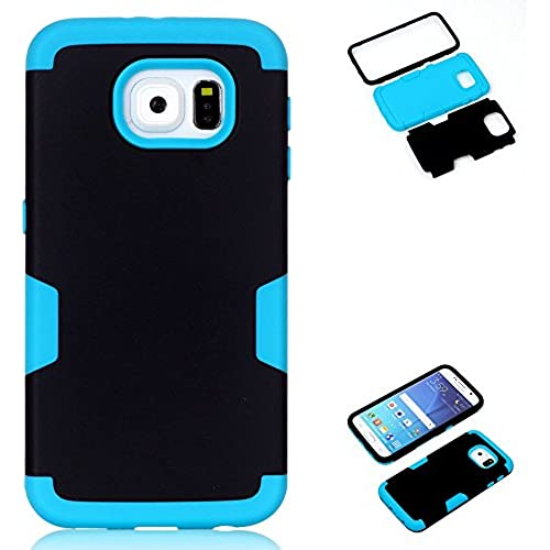 AMCHOICE(TM) Galaxy S7 Case,S7 Case, 3 in 1 Style Combo Bumper Protective Back Case for Samsung Galaxy S7 (Stylus,Screen Protector)(Black+Blue) Sales