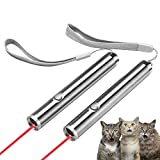 Cat Scratcher LED Light Pointer Pet Interactive Toy Cat Dog Training Tool Chaser Toy (USB Charge Type & AA Battery Type)