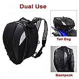 Motorcycle Seat Bag Tail Bag - Dual Use