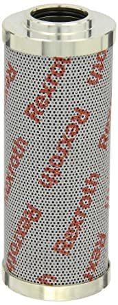 """Bosch Rexroth R928017253 Micro-glass Filter Element, Cartridge Type, 1.34"""" ID x 2.72"""" OD x 6.88"""" Tall, 3 Micron (Absolute), Without Bypass Valve; Removes Particle Contaminants and Protects Hydraulic Systems"""