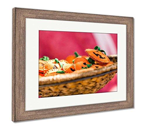 Ashley Framed Prints Handmade Craft, Wall Art Home Decoration, Color, 34x40 (Frame Size), Rustic Barn Wood Frame, AG6121624 -