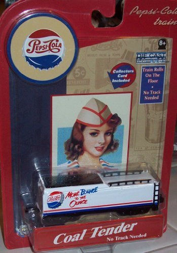 Pepsi Cola Trains COAL TENDER Die Cast Metal