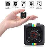#2: Mini Hidden Camera, SunbaYouth 1080P Full HD Covert Tiny Spy Cam with Activated Motion Detection, Snapshot and Night Vision for Home and Office Security