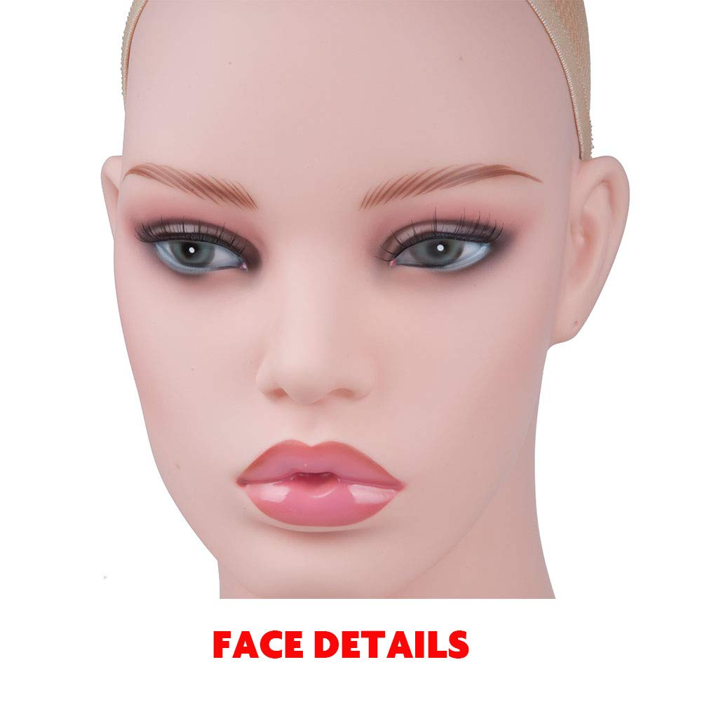 JINGFA Long Straight Lace Front Wigs For Women Silk Straight Natural Black Wig Middle Part