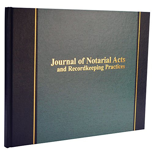 """Wilson Jones Journal of Notarial Acts Notary Book, 8-5/8""""..."""
