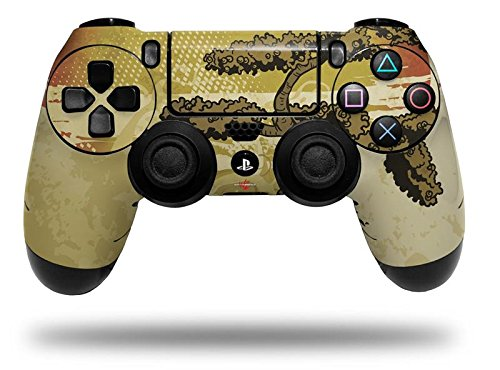 Bonsai Sunset – Decal Style Wrap Skin fits Sony PS4 Dualshock Controller (CONTROLLER NOT INCLUDED) by WraptorSkinz Review