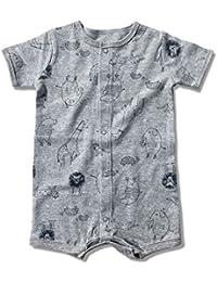 Midbeauty My Hero Newborn Cotton Jumpsuit Romper Bodysuit Onesies Infant Boy Girl Clothes