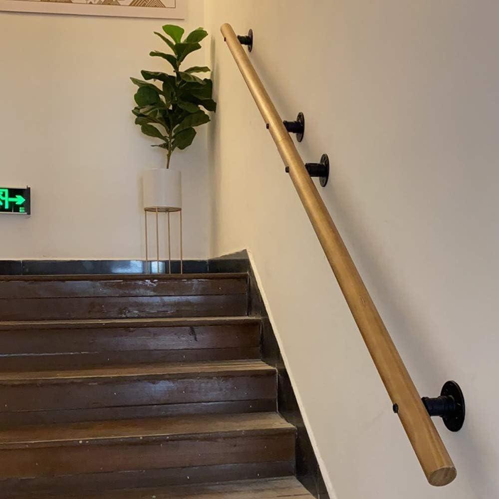 50-350cm Pasamanos de Escalera con Soportes, pasamanos Antideslizantes para Ancianos y discapacitados, pasamanos de jardín de Infantes de escaleras Interiores para Hospital, Accesorios completos: Amazon.es: Hogar