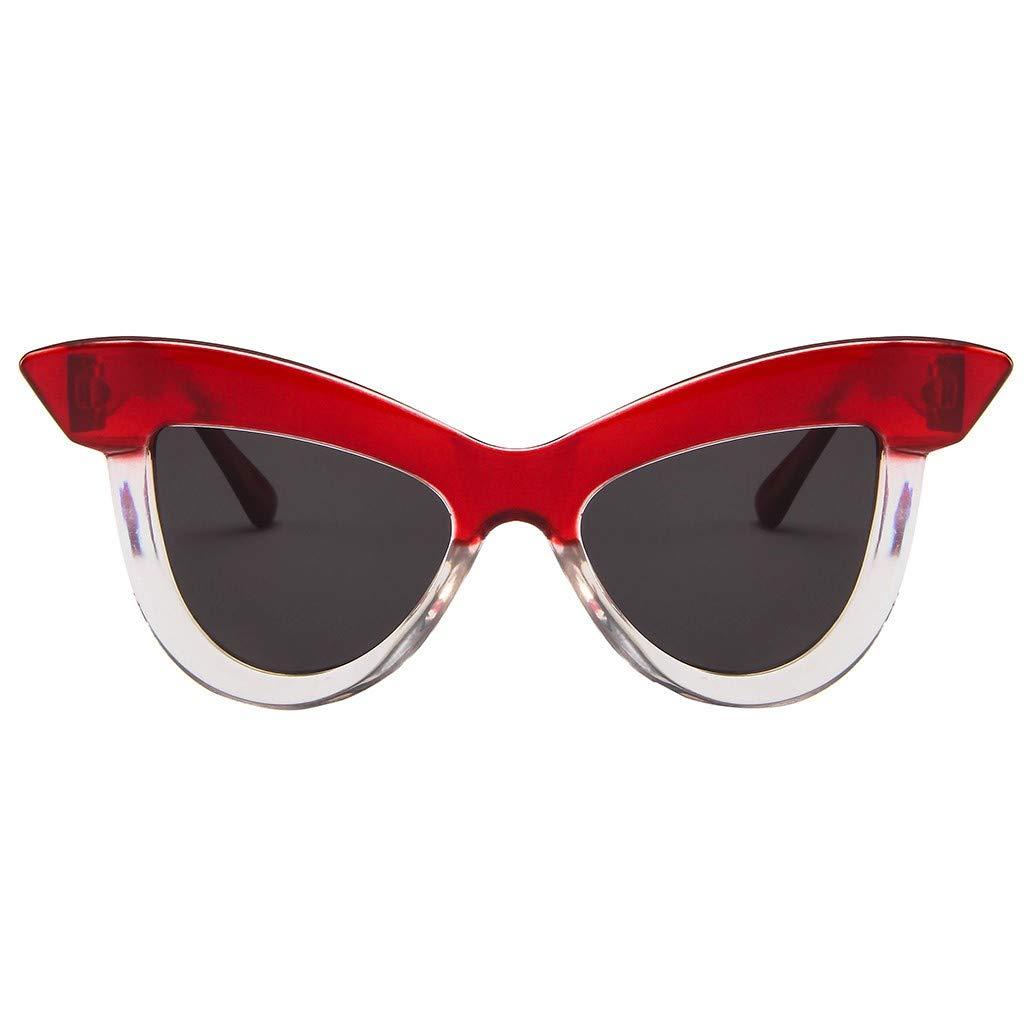 Sunglasses Trendy Stylish Classic Women Cat Eye Retro Eyeglass Frame Eyewear