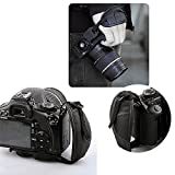 TOAZOE Leather Hand Grip Strap for Canon EOS T5i T4i T3i 60D 70D 5D Nikon D7200 D7000 D600 D800 D90 D5200 D3100 Sony Olympus SLR/DSLR Leather Wrist Strap