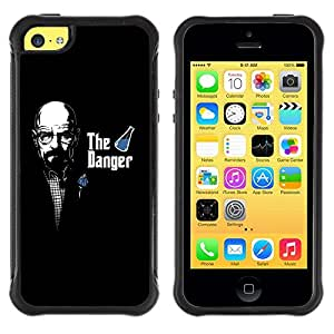 Suave TPU GEL Carcasa Funda Silicona Blando Estuche Caso de protección (para) Apple Iphone 5C / CECELL Phone case / / The Danger - Meth Cook Walter /