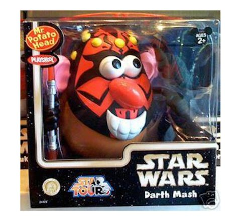 Disney Star Wars Darth Mash Mr. Potato Head Toy (Potato Mr Disney)
