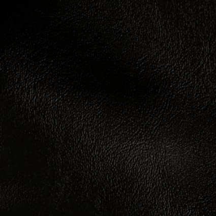 Amazon Com Faux Leather Wallaby Black Fabric By The Yard