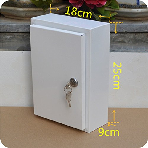Large Milk Box Outdoor Rainproof Mail Box Padded Metal
