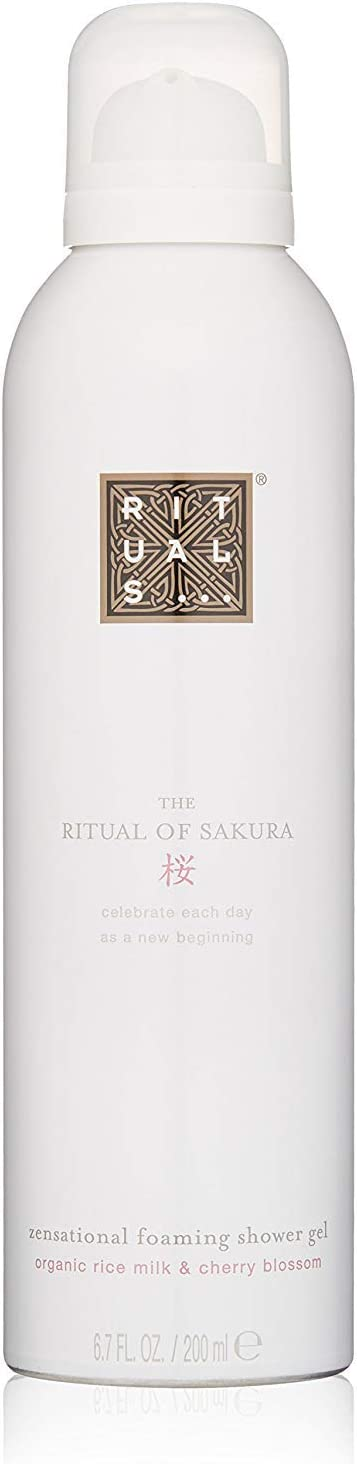 Rituals Gel De Ducha En Espuma (Aroma Arroz orgánica y la Flor del Cerezo) - 200 ml.