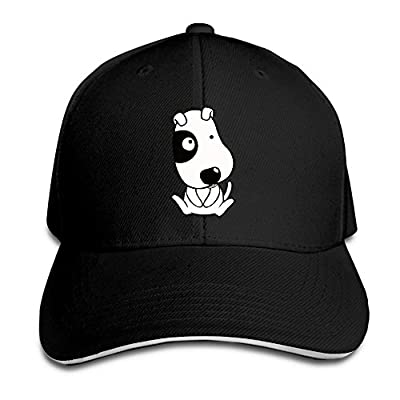 Cute Dog Custom Sandwich Peaked Cap Unisex Baseball Hat