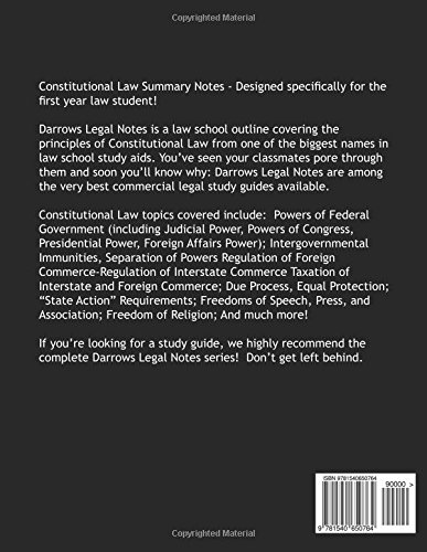 Constitutional law outlines   oxbridge notes united states.