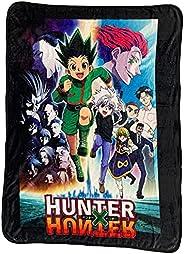 Hunter X Hunter Characters Logo Blanket Throw