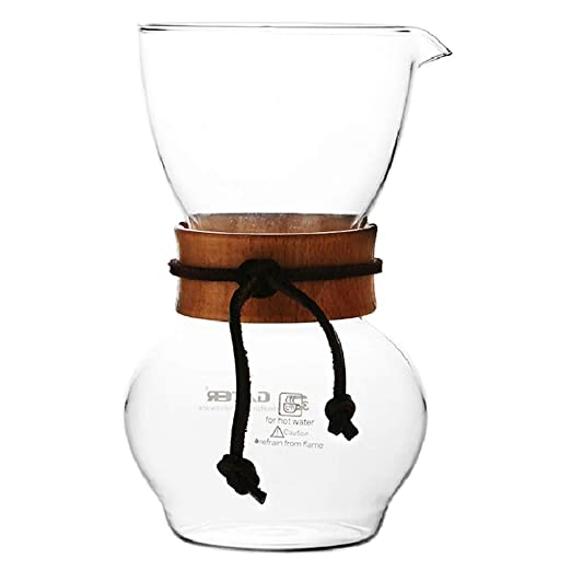 YQQ-Cafetera Olla de Mano de Filtro de café de Franela Americana ...