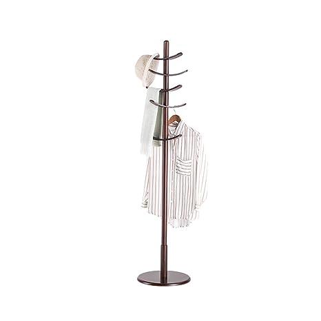Amazon.com: ZHHL - Perchero de madera maciza, diseño moderno ...