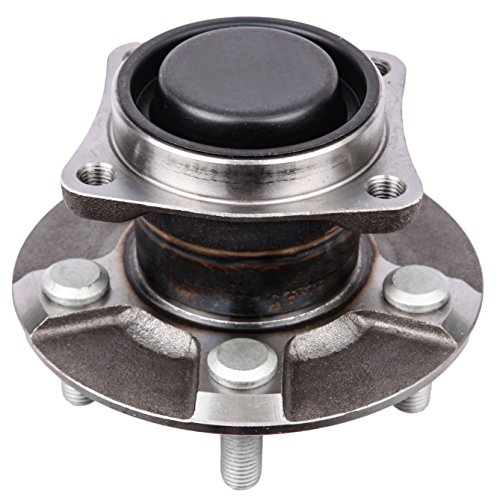 (ECCPP Rear Wheel Hub Bearing Assembly 5 Lugs for 2003-2008 Pontiac Toyota Compatible with 512218)