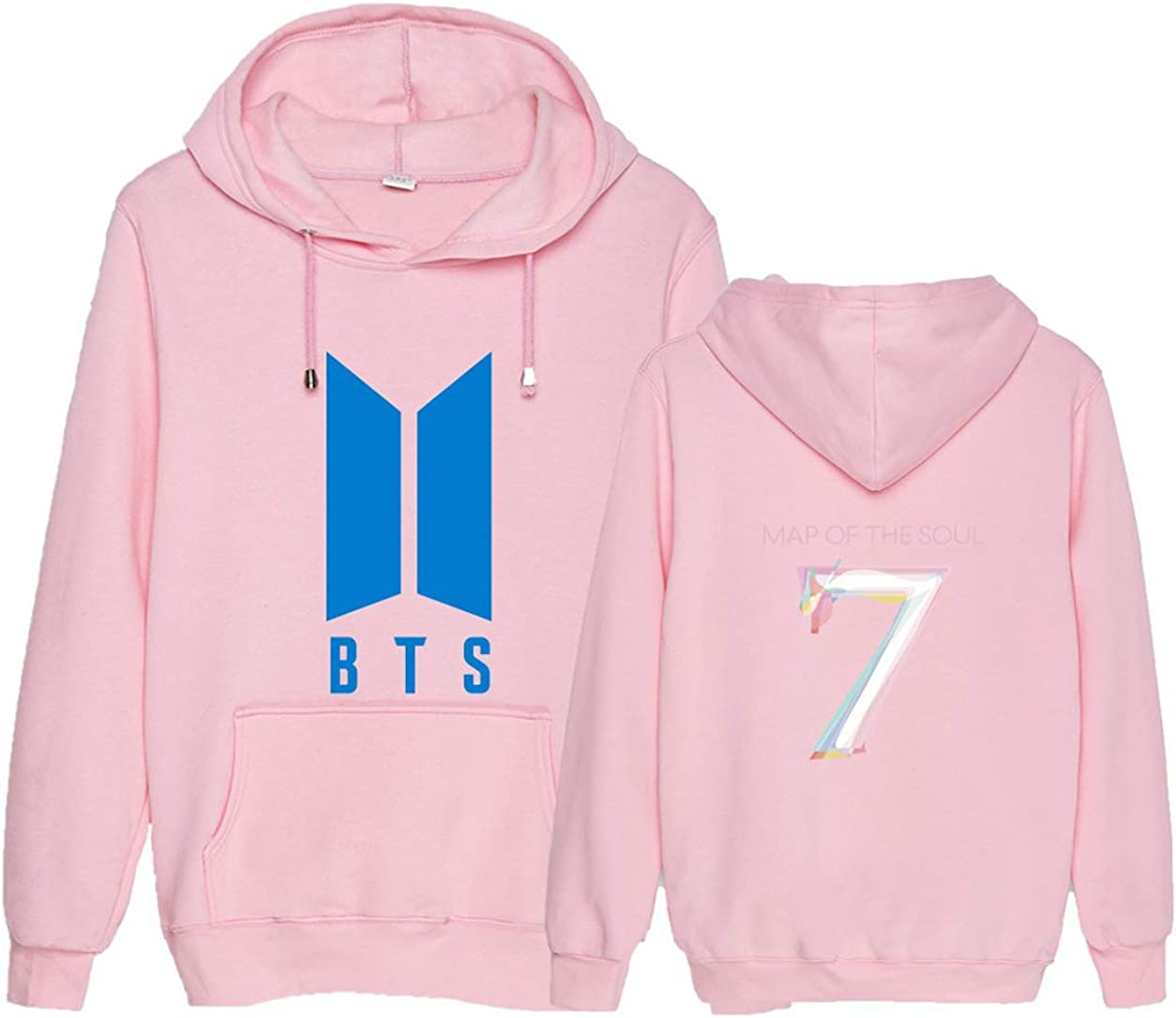ACEFAST INC Kpop BTS Hoodie Map of The Soul 7 Sweatshirt V Jimin Suga RM Jhope Jungkook Pullover Sweater