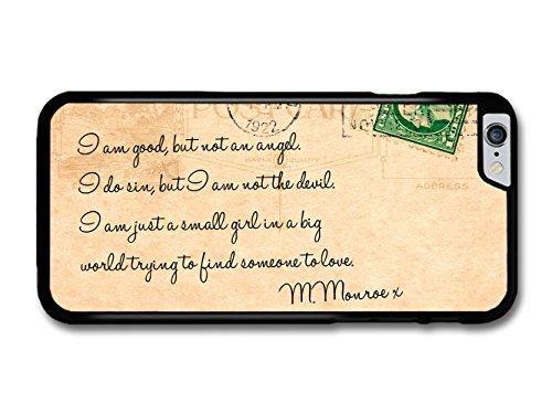 Marilyn Monroe Vintage Cool Style Love Postcard coque pour iPhone 6 Plus 6S Plus