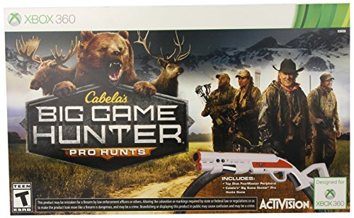 Cabela's: Big Game Hunter Pro Hunts with Gun - Xbox 360 by Activision