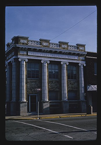 24 X 16 Photo Of First National Bank  Fergusan Street  Wood River  Illinois 1991 Margolies  John 50A