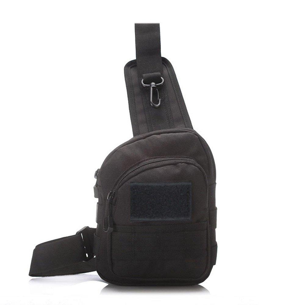 x-freedom MiniスリングバッグタクティカルスリングバッグパックMilitary Slingバックパック胸肩バッグMOLLE Assault DayパックバッグOneストラップバッグハイキングキャンプハンティング   B07D6HVXHR