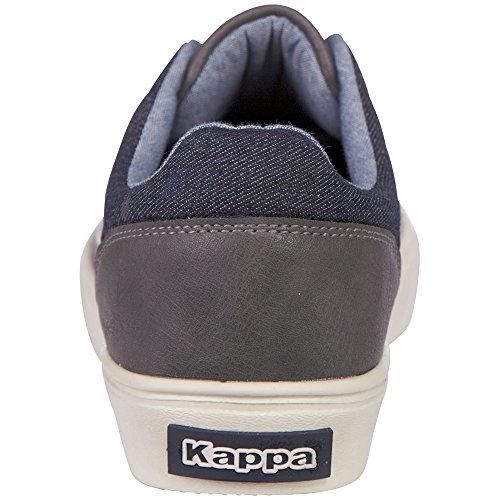 Kappa Brick Lf, Unisex Adults' Low-Top Grey (Grey #808080)