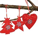 Christmas Ball Ornaments Christmas Tree Decoration Non-Woven Sewing Accessories Decorative Pendant