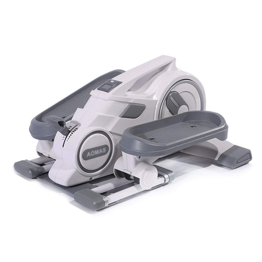 ステッパー ステッパー多機能ステッパー家の減量マシンのストーブパイプミュート楕円形のジョギングミニフィットネス機器 (Color : Gray, Size : 62*51*33cm) Gray 62*51*33cm