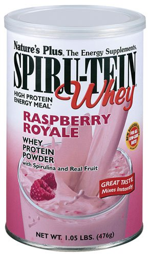Nature's Plus Spiru-Tein® Whey Shake Raspberry Royale -- ...