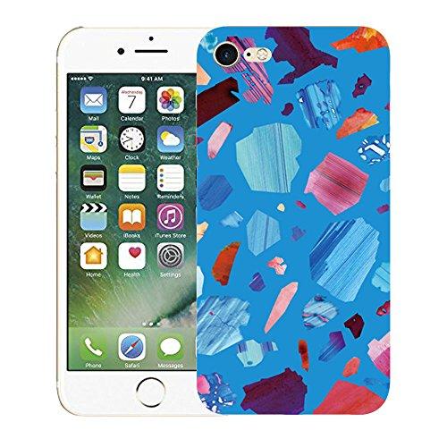 """Vanki® iPhone 7 Funda, modelo verde Protectiva Carcasa de Silicona de gel TPU Transparente, Ultra delgada, Amortigua los golpes Case Cover Para iPhone 7 4.7"""" 2"""